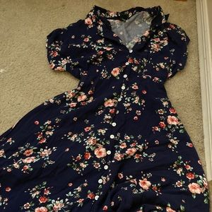 Adorable floral Wild Fable Dress